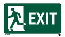 Exit, Fire & Emergency Info Signs