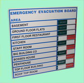 Evacuation Boards