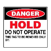 Lockout & Accident Prevention Tags