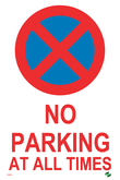 Permanent Parking Signs