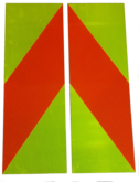 Overwidth Reflective Placard
