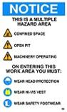 Notice - Area Hazards and Rules