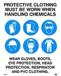 Mandatory - Protective Clothing Must be Worn when H...