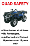Quad Safety Rules