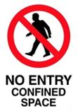 No Entry Confined Space