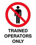 Trained Operators Only