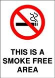 This is a Smoke Free Area