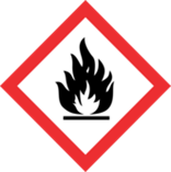 GHS pictogram for Flammables and Organic Peroxide.