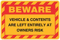Beware - Vehicle & Contents are Left Entirely at Ow...