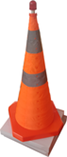 Collapsible Safety Cone 900mm